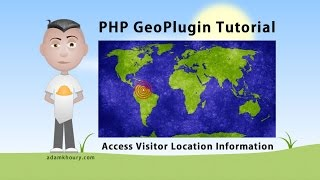 PHP GeoPlugin Tutorial Get User Location Information IP Detection