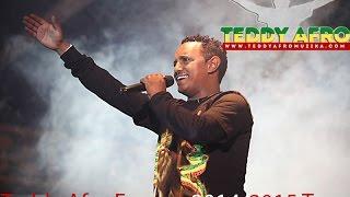 Teddy Afro Europe 2014/2015 Tour