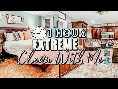 CLEAN WITH ME MARATHON 2019| 1.5 HOURS OF EXTREME CLEANING MOTIVATION :: CLEANING ROUTINE