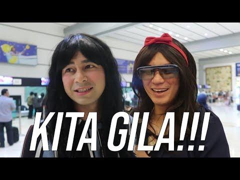 Download Video SEMUANYAA GILA..GW GILA, BAIM GILAAA...RIFFI & SABRINA - RANS CHALLENGE