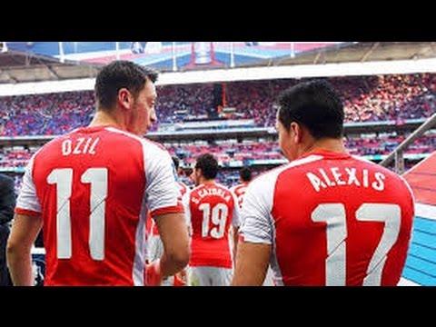 Alexis Sanchez & Mesut Ozil 2016/17 -El Duo Del Arsenal- HD