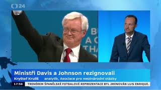 Britský ministr pro brexit Davis rezignoval