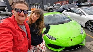 Video HER NEW CAR!! MP3, 3GP, MP4, WEBM, AVI, FLV September 2018