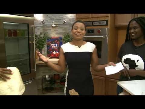 FOX 2 9AM CONSCIOUS FEST FOOD (видео)