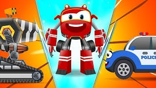 Video Baby Cars - Bob the PoliceCar Chase thief! Cartoon Rhymes for kids MP3, 3GP, MP4, WEBM, AVI, FLV Oktober 2018