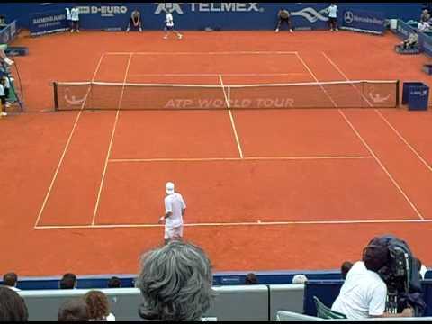 Juan Ignacio Chela vs Alberto Martin, ATP de Buenos Aires 2009