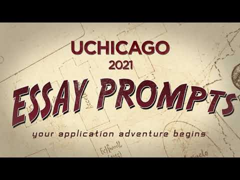 Essay Prompts 2021