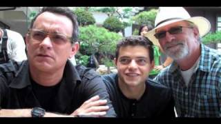 A behind-the-scenes conversation with Rami Malek
