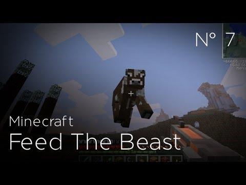 Minecraft Feed The Beast - Episode 7 : Pistolet anti-gravité