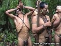Amazonian Indians from the Amazon Rain Forest