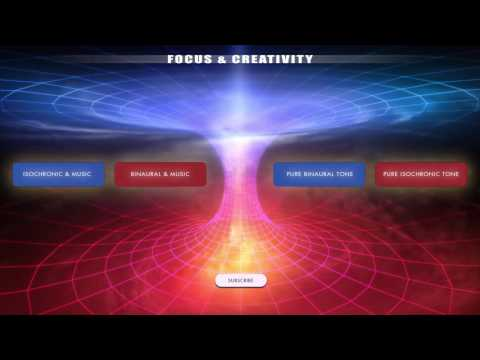 Focus & Creativity - Creative Thinking, Visualisation & Problem Solving - Binaural Beats & Iso Tones