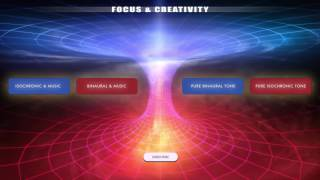 Video Focus & Creativity - Creative Thinking, Visualisation & Problem Solving - Binaural Beats & Iso Tones MP3, 3GP, MP4, WEBM, AVI, FLV November 2017