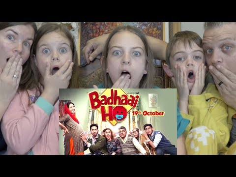 BADHAAI HO MOVIE | AMERICAN FAMILY REACTION