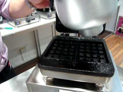 Waffle Baking Demonstration