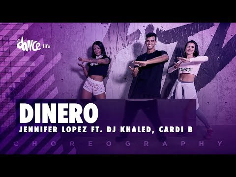 Dinero - Jennifer Lopez Ft. DJ Khaled, Cardi B | FitDance Life (Coreografía) Dance Video