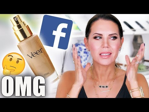 TESTING Makeup From FACEBOOK ADS   World's Best Foundation ???