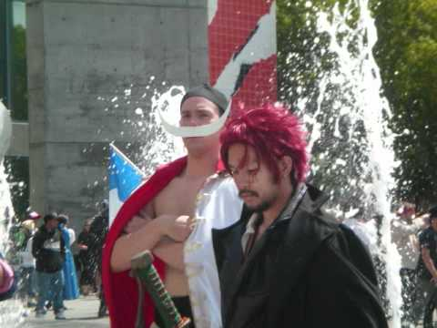 Fanime 2011 One Piece cosplay gathering