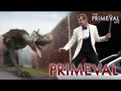Primeval: Series 3 - Episode 6 - Terror Bird vs Danny Quinn Car Chase (2009)