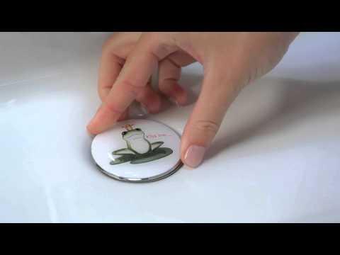 WENKO Pluggy® XL - Waschbeckenstöpsel