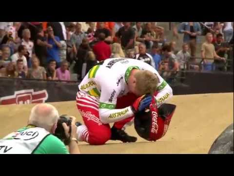 run - Full LIVE Re-run of the 2014 UCI BMX World Championships. After a night that witnessed four new UCI BMX World Champions in the Time Trial division it was time for the 244 racers to get on...