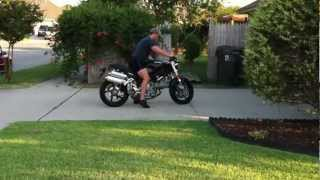 6. 2006 Ducati Monster S2R  803 motorcycle - Last Days With The Ducati