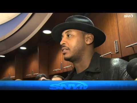 Video: Knicks Post Game: Carmelo Anthony & Derek Fisher