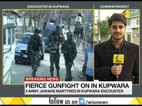Fierce gunfight on in Kupwara; 5 army jawans killed in encounter
