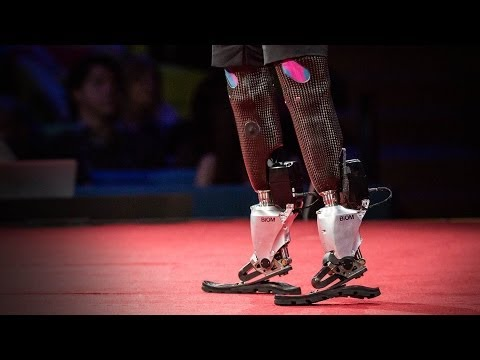 NEW - Hugh Herr is building the next generation of bionic limbs, robotic prosthetics inspired by nature's own designs. Herr lost both legs in a climbing accident 3...