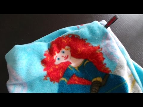 DaIsY´s DIY – Fleece Kinder Loop Schal in 12 Minuten selber nähen