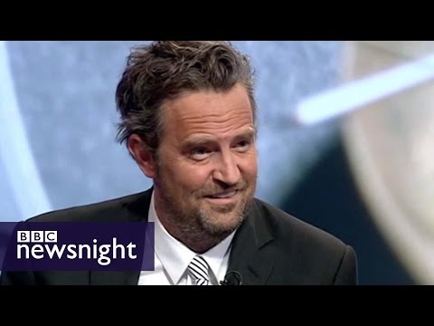 Matthew Perry debates drug courts with Peter Hitchens – Newsnight