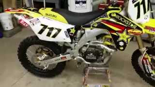 10. 2005 RMZ 450 Yoshimura RS-2 exhaust review