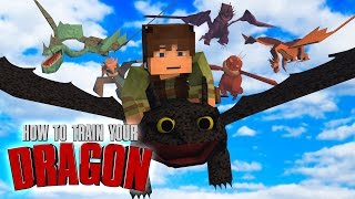 "Minecraft | How To Train Your Dragon Ep 16! ""NEW ICE DRAGONS"""