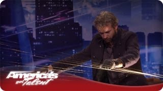 William Close Amazes Howard With Musical Talent - Audition America's Got Talent Season 7