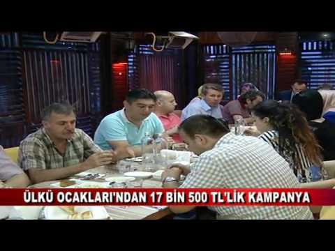 ÜLKÜ OCAKLARI'NDAN 17 BİN 500 TL'LİK KAMPANYA