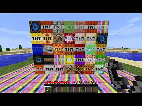 EVEN MORE TNT MOD in Minecraft (OVER 30 NEW TNT)