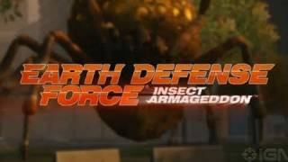 Видео Earth Defense Force: Insect Armageddon