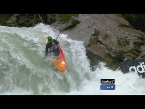 Raging torrents at the Extreme Kayaking World Championships