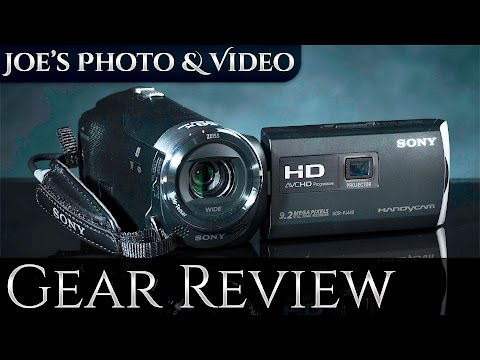Sony HDR-PJ440 Handycam HD Video Camera | Gear Review