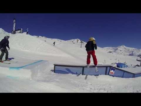 Le snowpark de Tignes