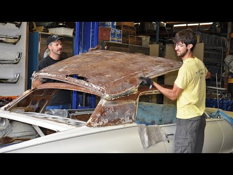 Rusty Roof Replacement – 1968 Cougar