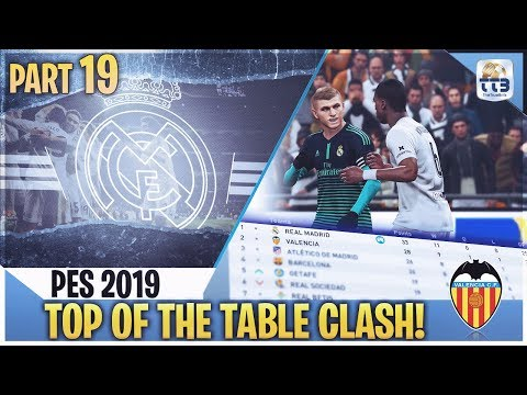 [TTB] PES 2019 - TOP OF THE TABLE CLASH! - Real Madrid Master League #19 (Realistic Mods)