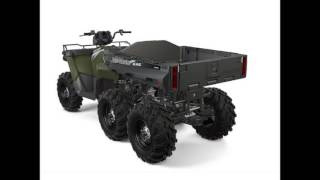 8. Polaris Sportsman Big Boss 6x6 570 EPS Sage Green