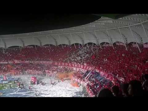 Salida Baron Rojo Sur   America De Cali 87 Años   FEB 2014 1080 HD   EL QUE TIENE MAS GENTE. - Baron Rojo Sur - América de Cáli