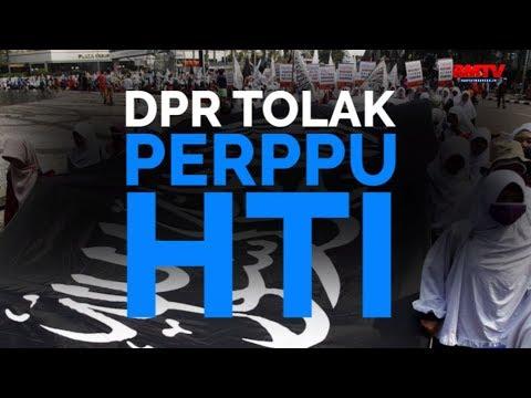 DPR Tolak Perppu HTI
