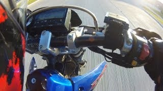 9. DRZ400SM 110MPH Top Speed DRZ 400