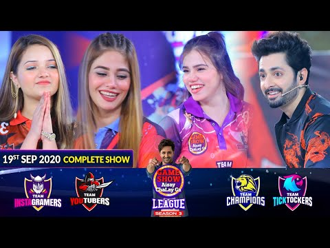 Game Show Aisay Chalay Ga League Season 3 | 19th September 2020 | Complete Show