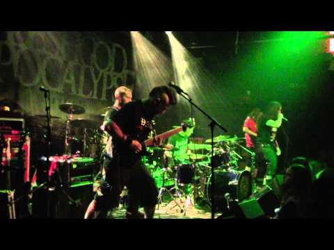 Black Crown Initiate - Stench of The Iron Age - Montreal 2014