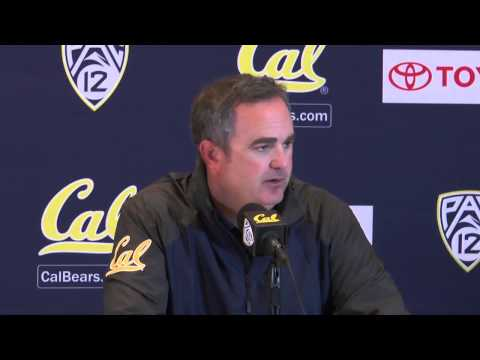 Dykes - Cal Head Coach Sonny Dykes addresses the media at the post game conference following Cal's defeat to Northwestern on Saturday night.