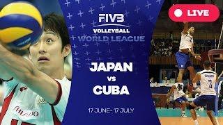 Video Japan v Cuba - Group 2: 2016 FIVB Volleyball World League MP3, 3GP, MP4, WEBM, AVI, FLV Februari 2019
