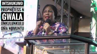 Download Lagu INTSHUKUMO ( Prophetess N Gwala) uNkulunkulu oma Nomuntu Mp3